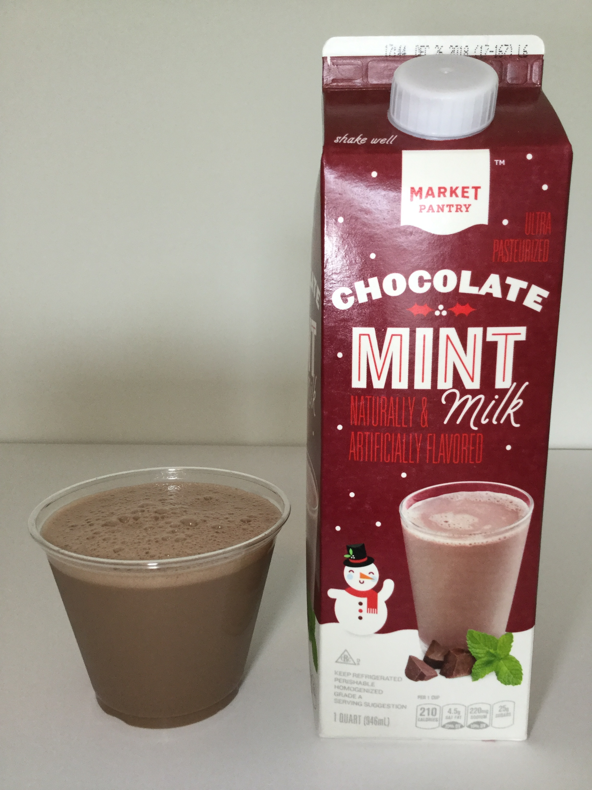 Market Pantry Chocolate Mint Milk Cup