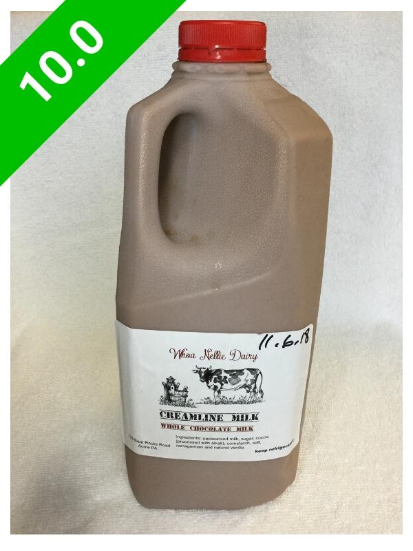 Whoa Nellie Dairy Chocolate Milk (USA: PA)