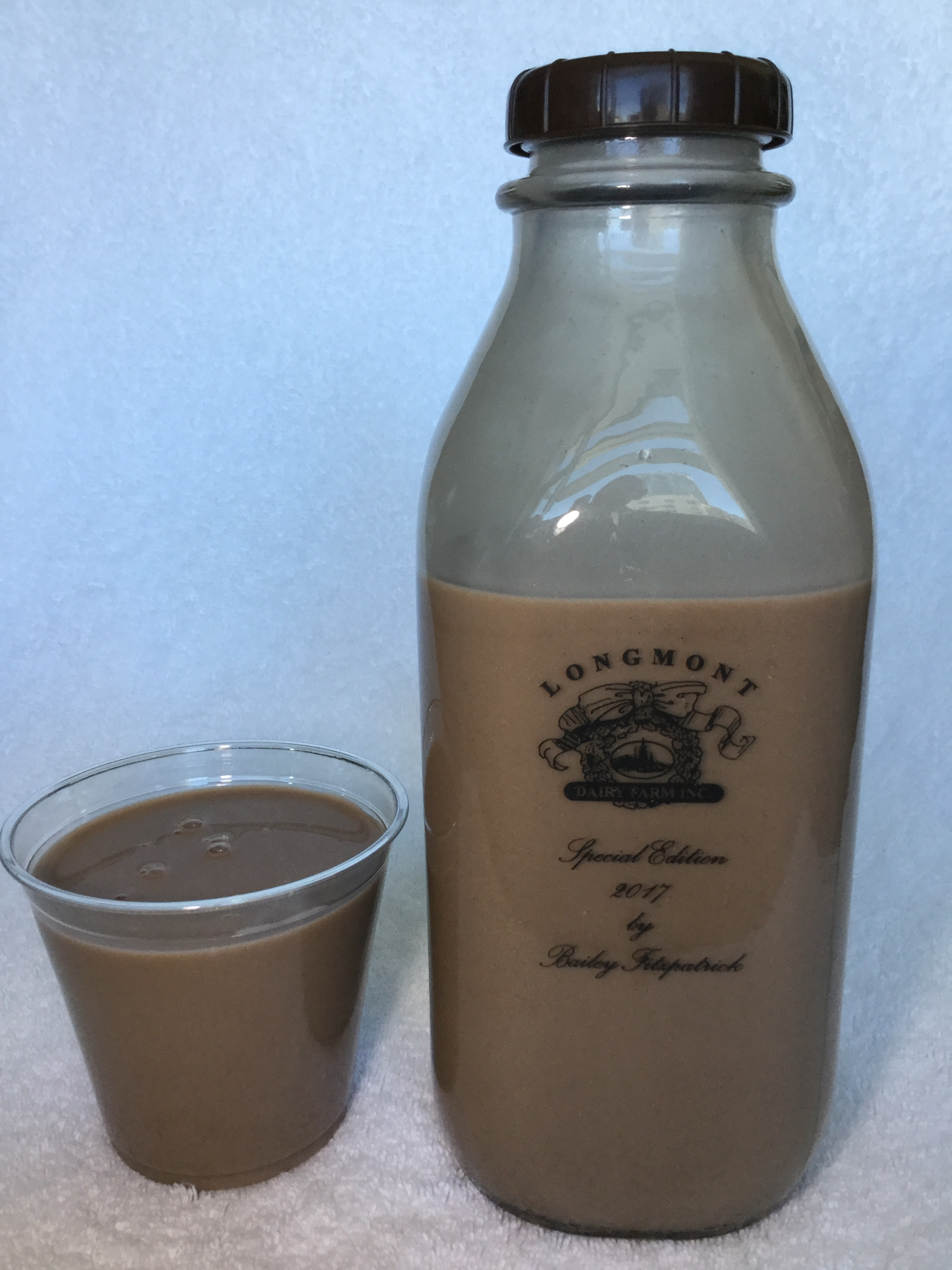 Longmont Dairy Farm Chocolate Milk Cup