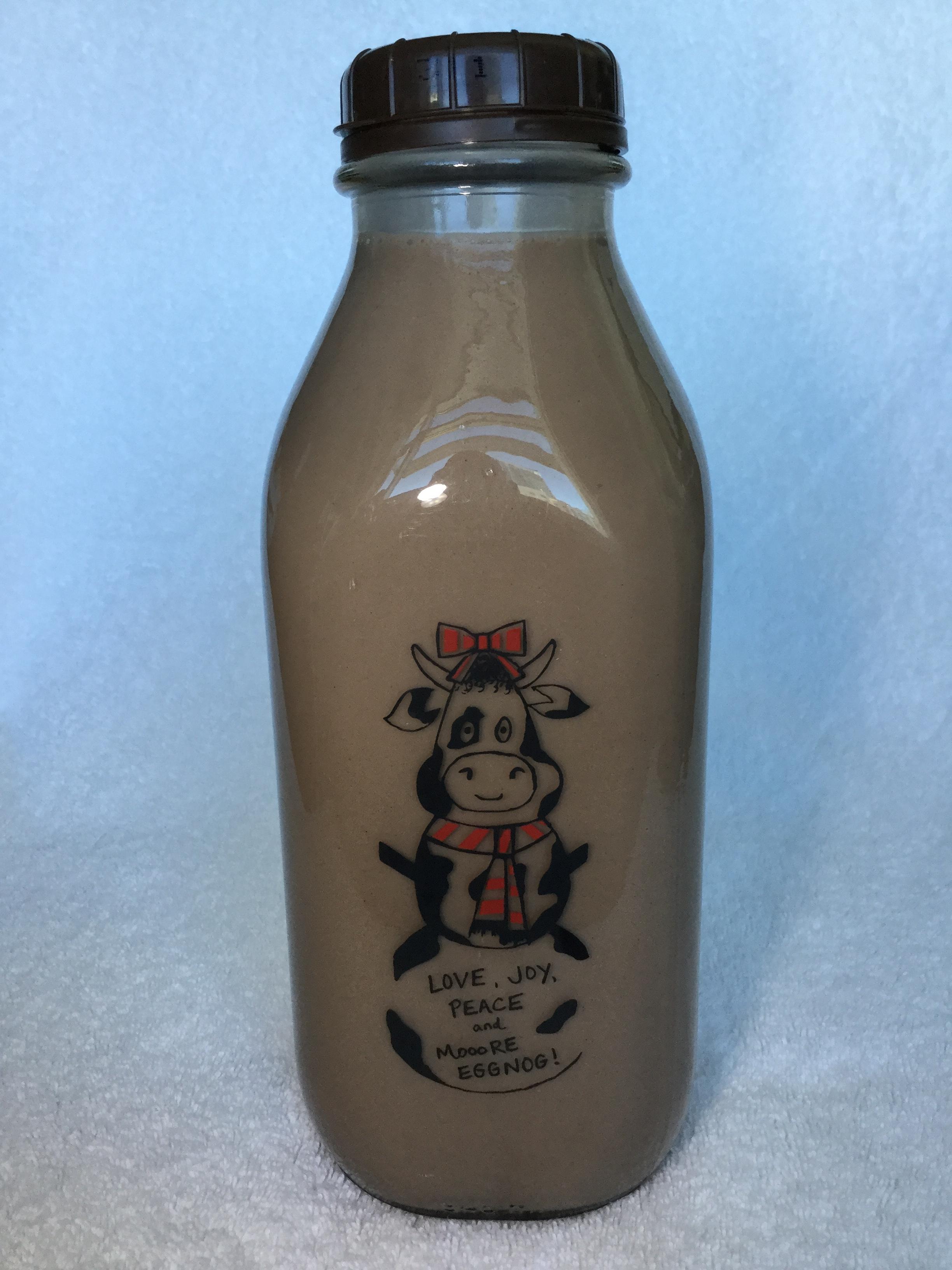 Longmont Dairy Farm Chocolate Milk Side 1