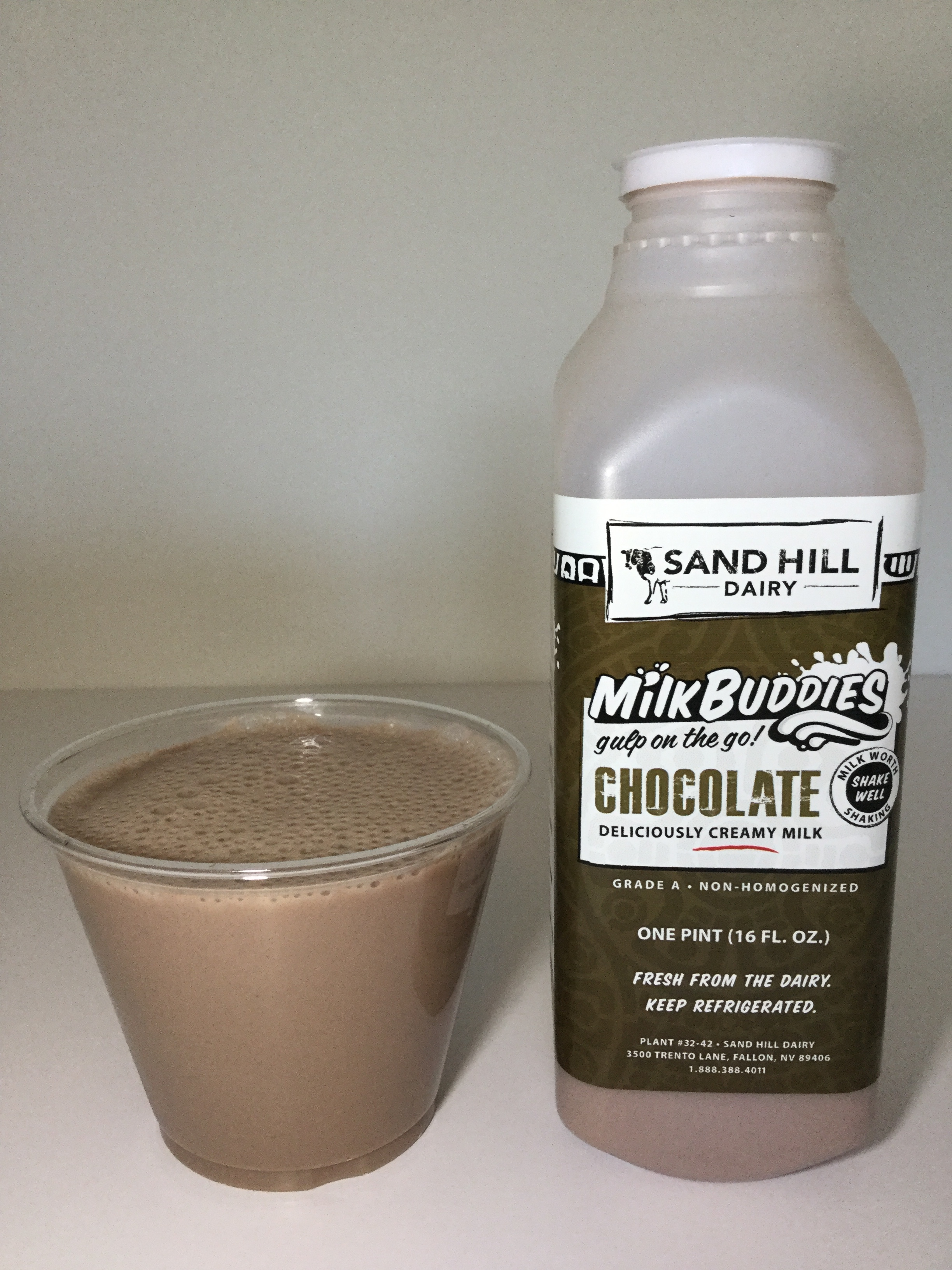 Sand Hill Dairy Chocolate Milk Cup