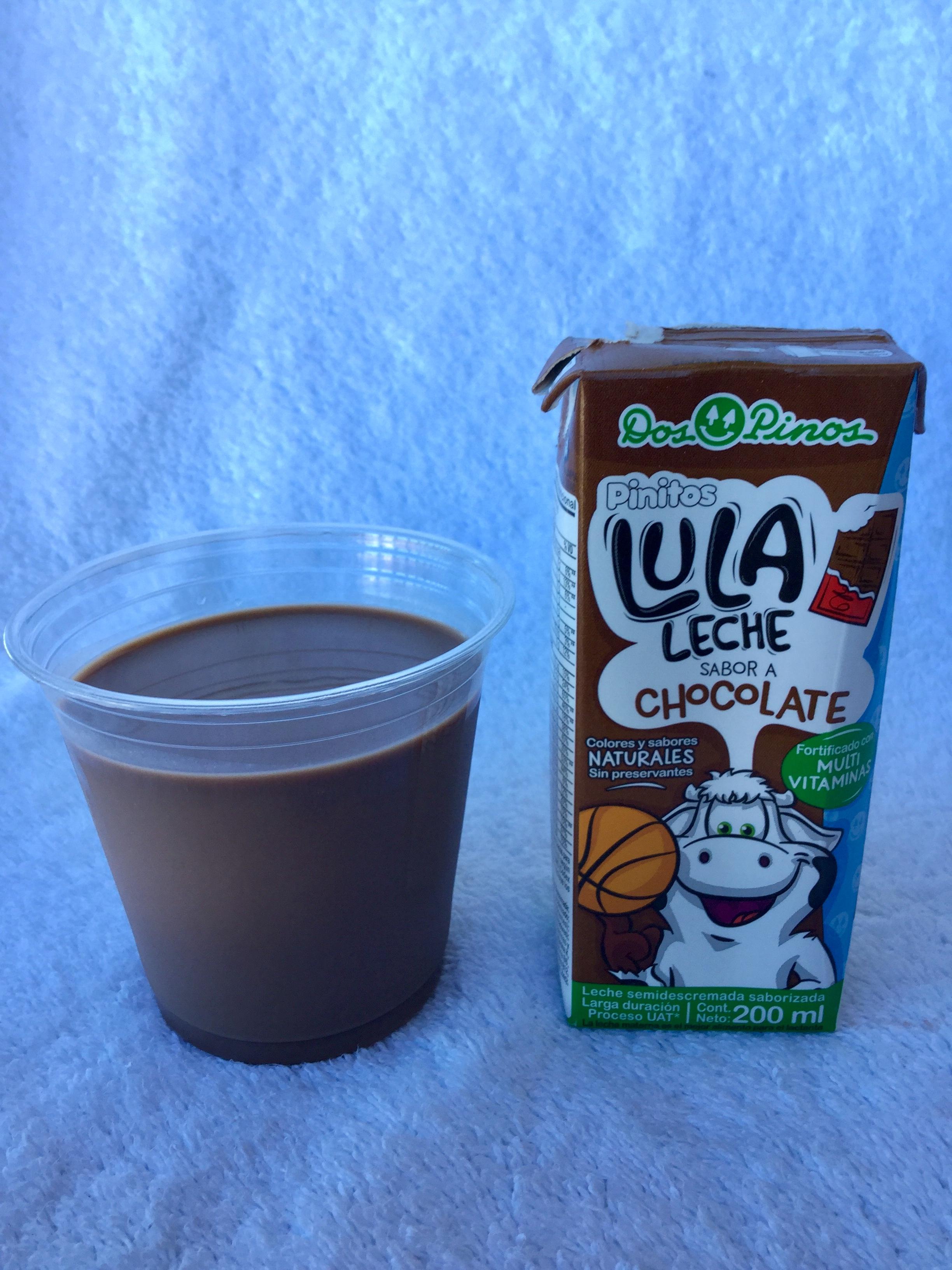 Dos Pinos Pinitos Lula Leche Chocolate Cup