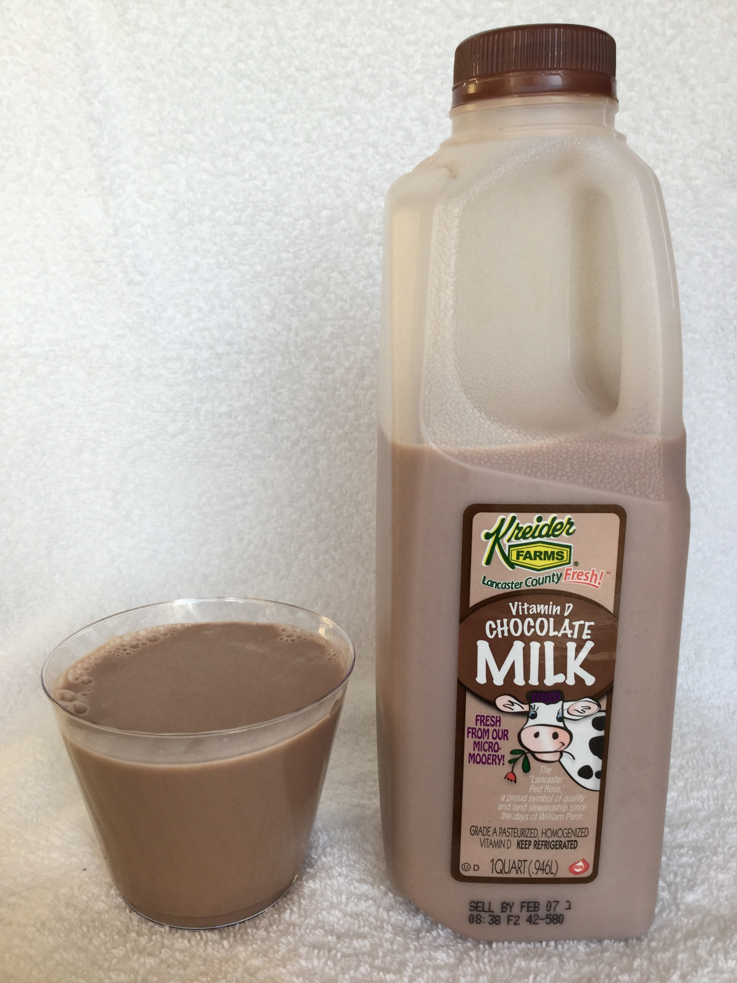 Kreider Farms Chocolate Milk Cup