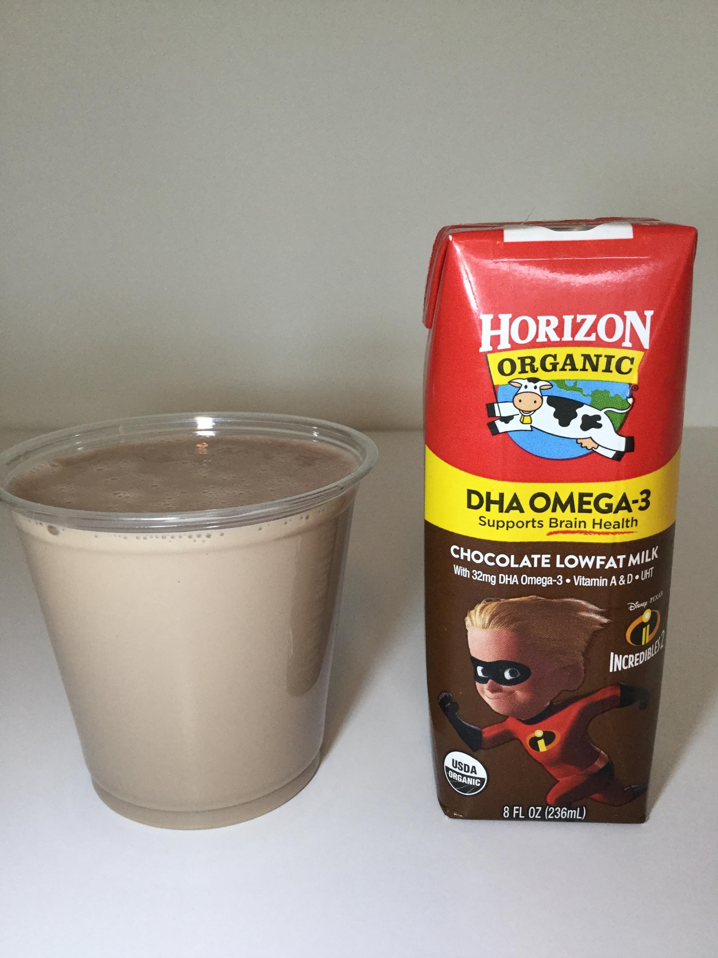 Horizon Organic DHA Chocolate Milk Cup