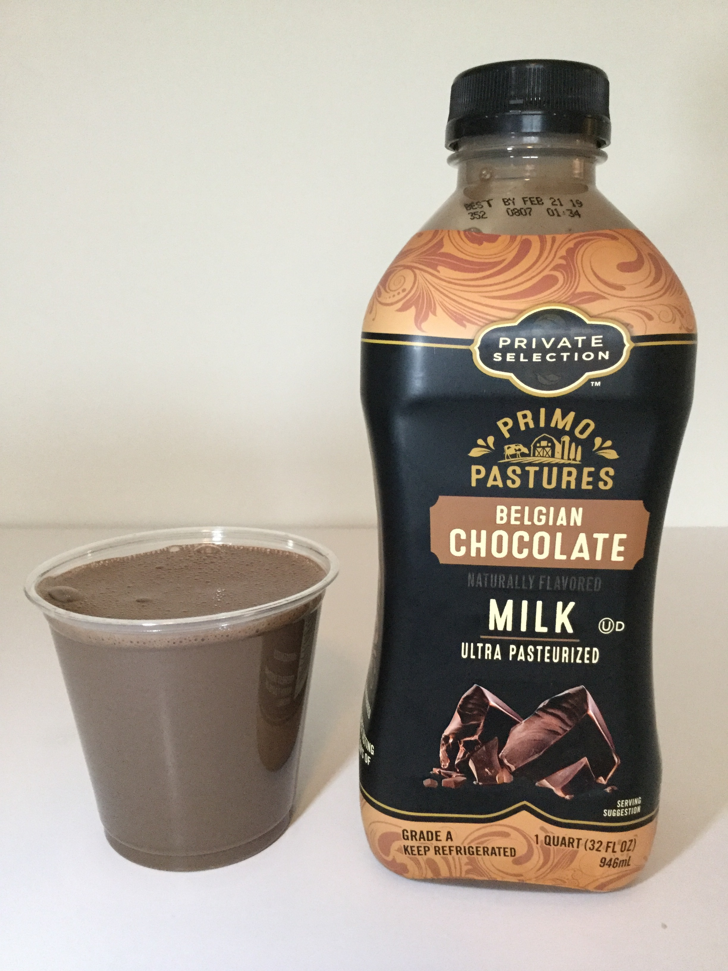 Kroger Private Selection Primo Pastures Belgian Chocolate Milk Cup