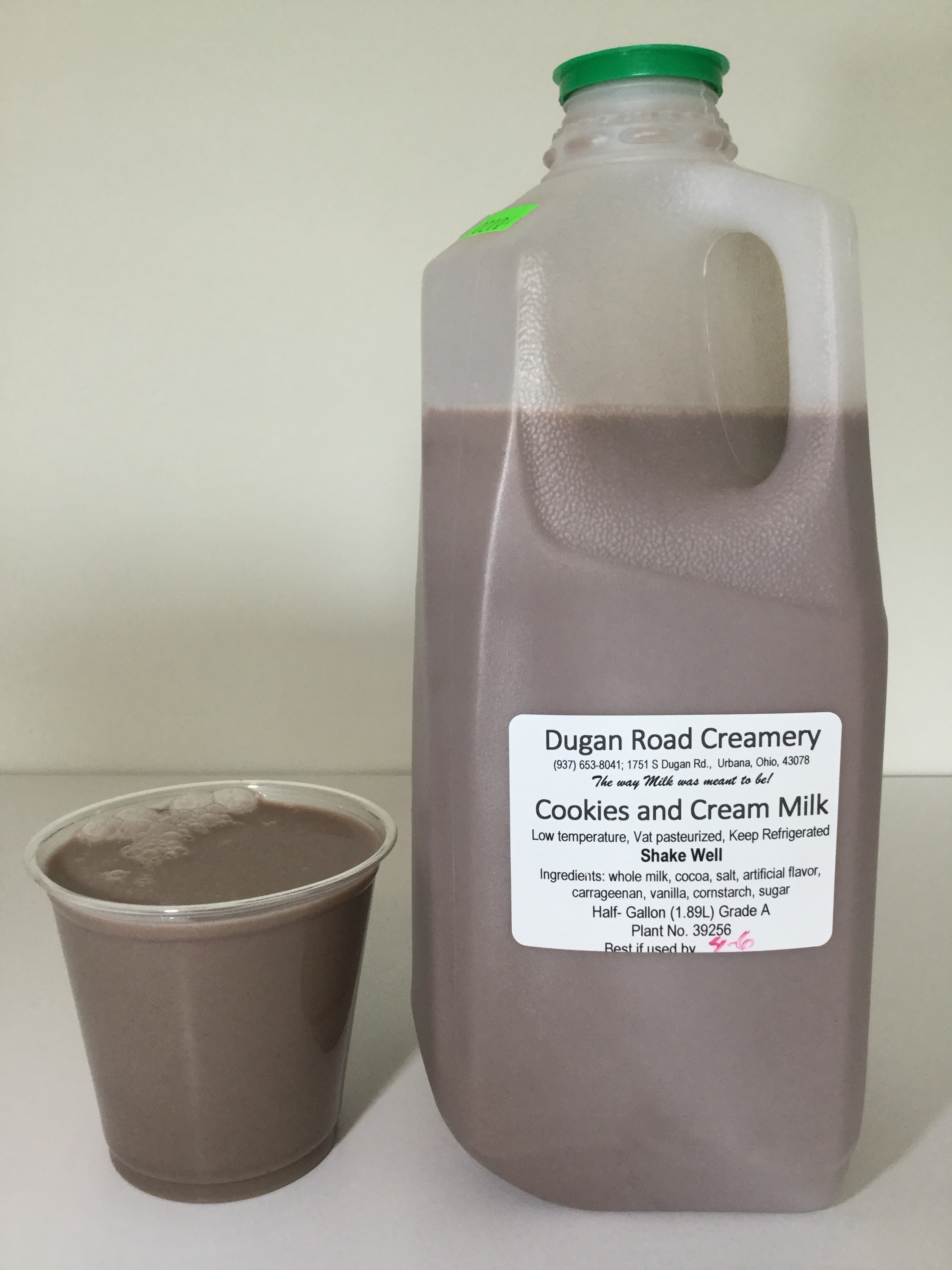 Dugan Road Creamery Cookies and Cream Milk Cup