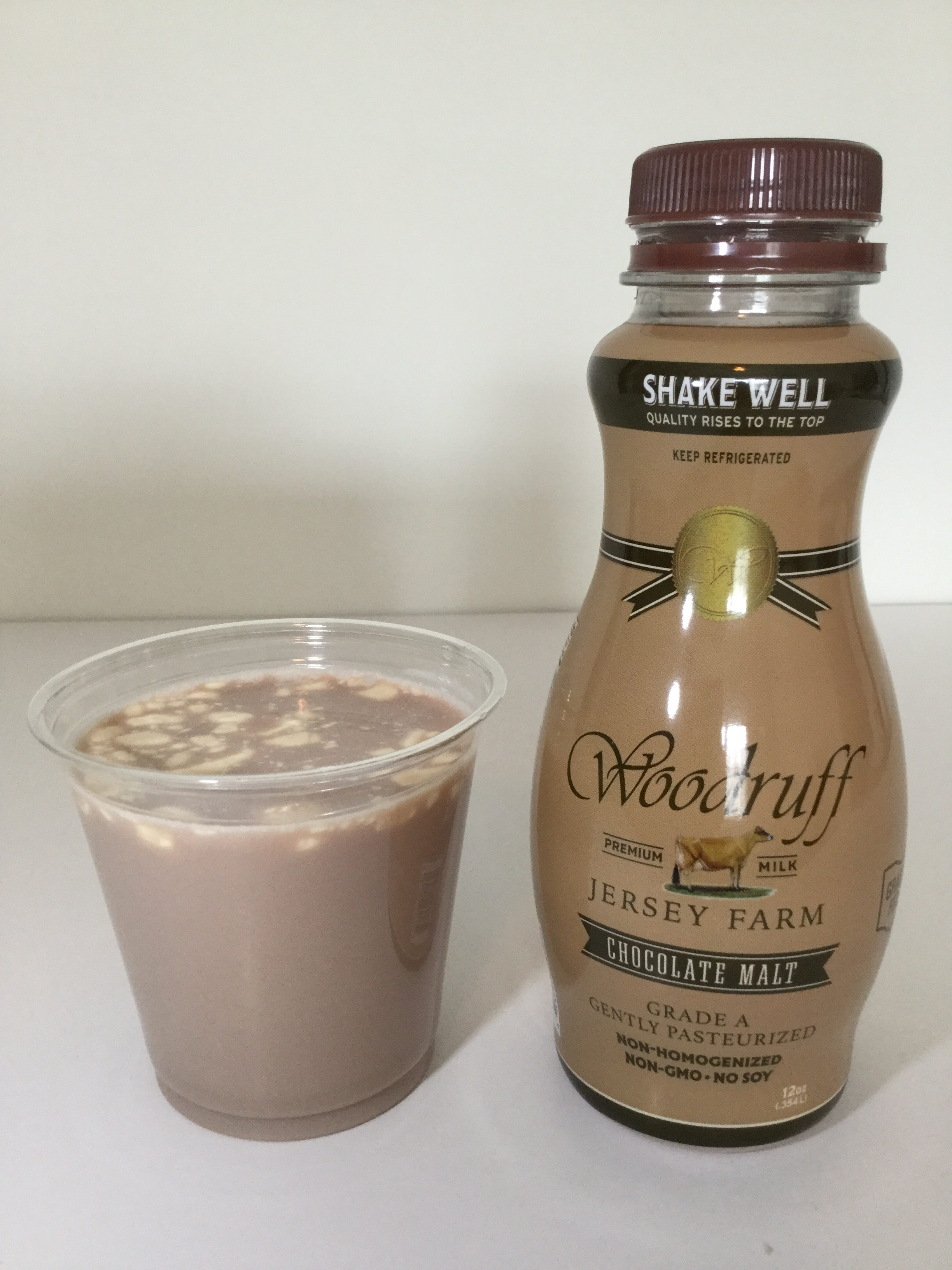 Woodruff Jersey Farm Chocolate Malt Cup
