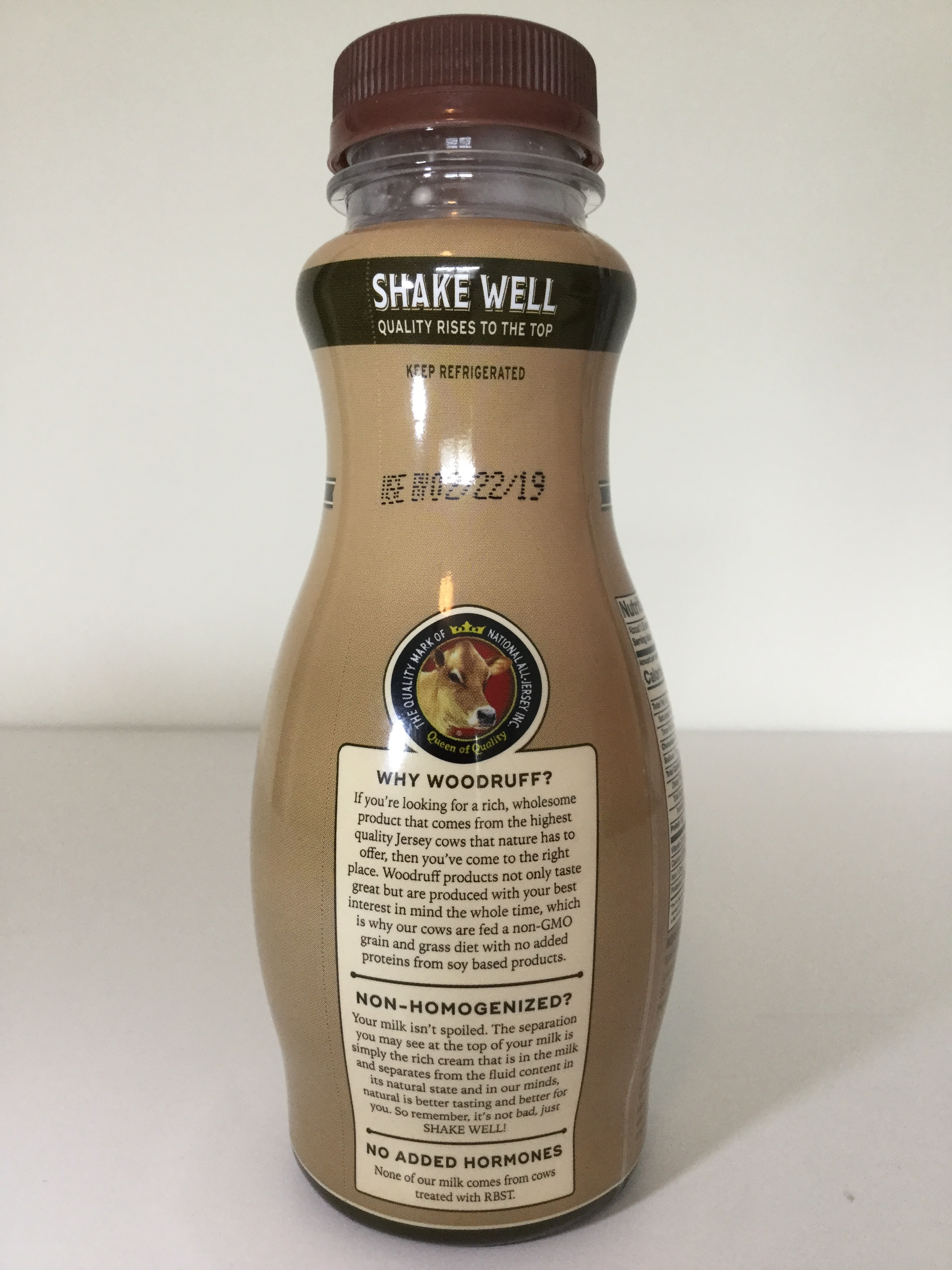 Woodruff Jersey Farm Chocolate Malt Side 2