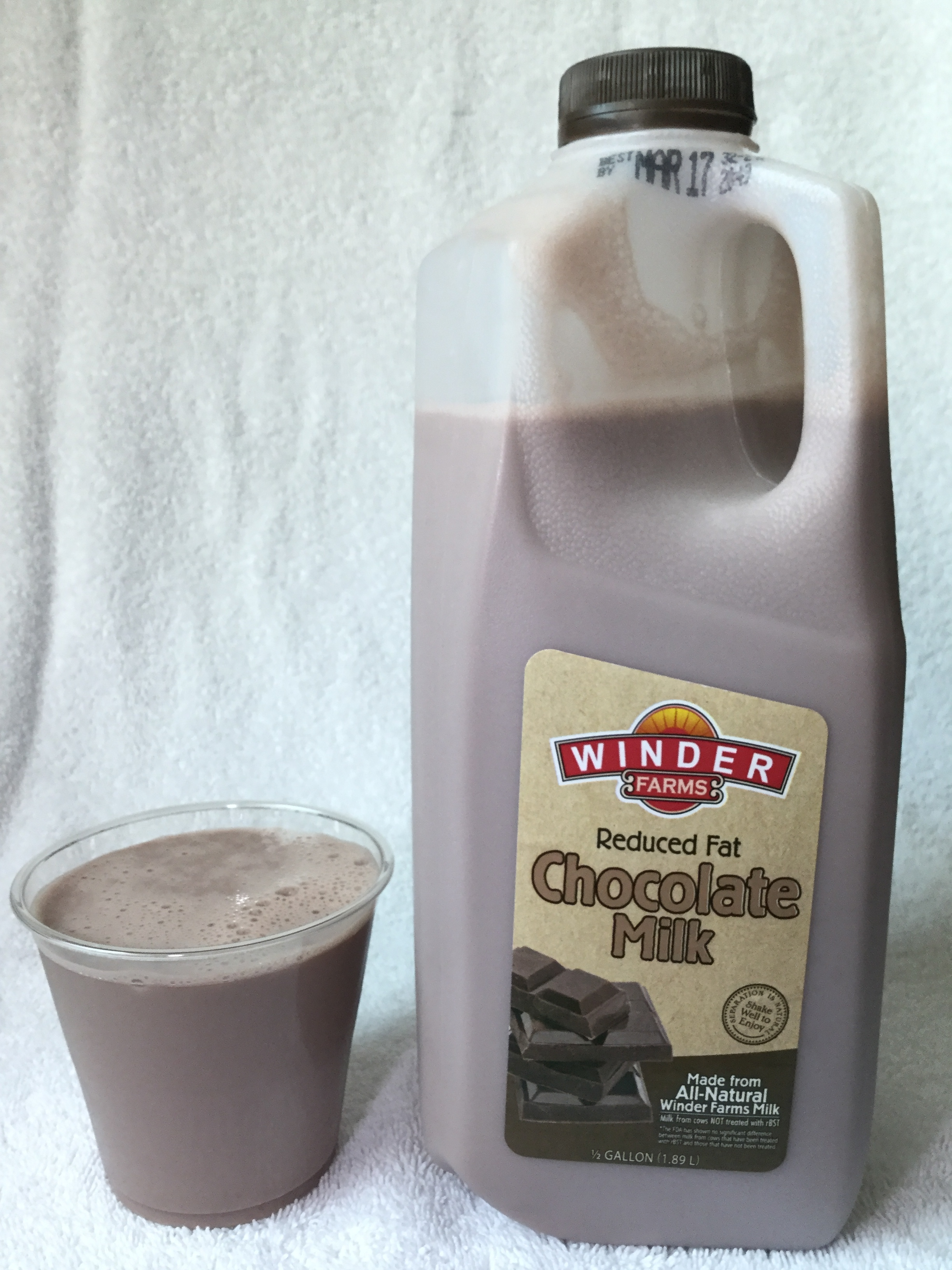Winder Farms Reduced Fat Chocolate Milk Cup
