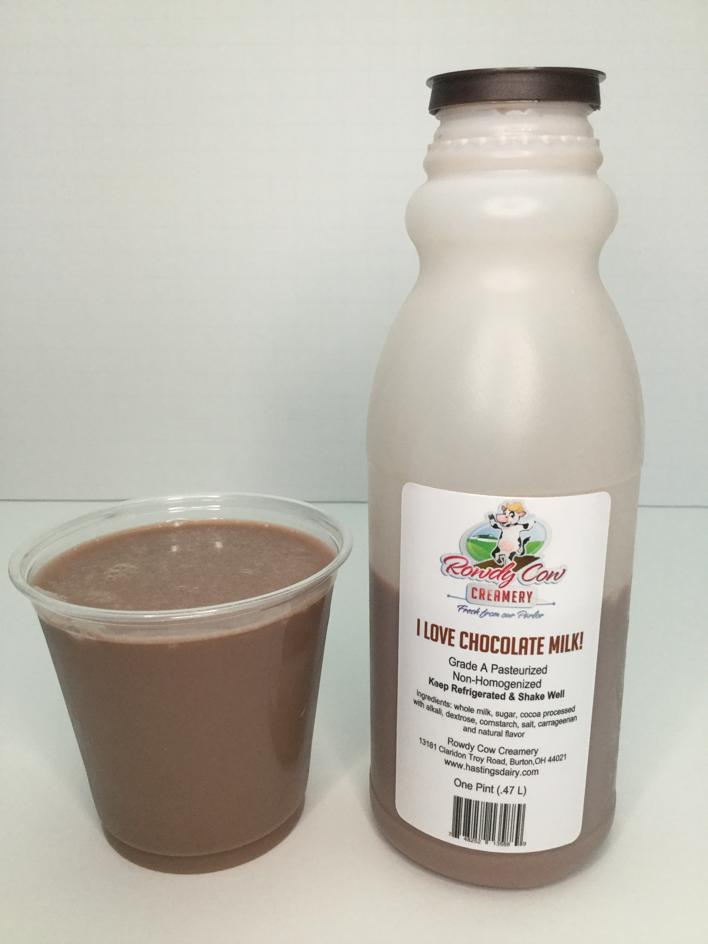 Rowdy Cow Creamery Chocolate Milk Cup