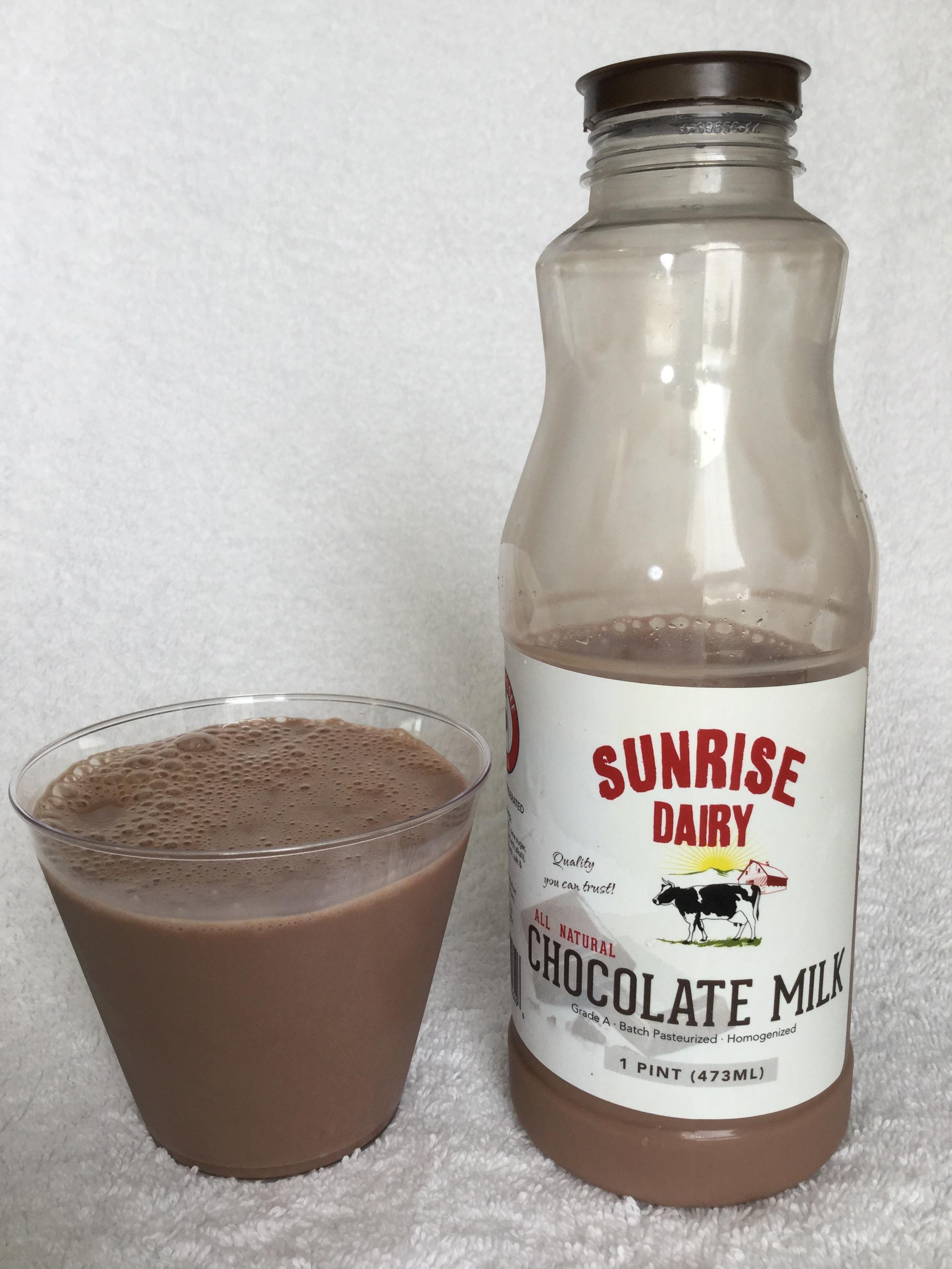 Sunrise Dairy Chocolate Milk Cup