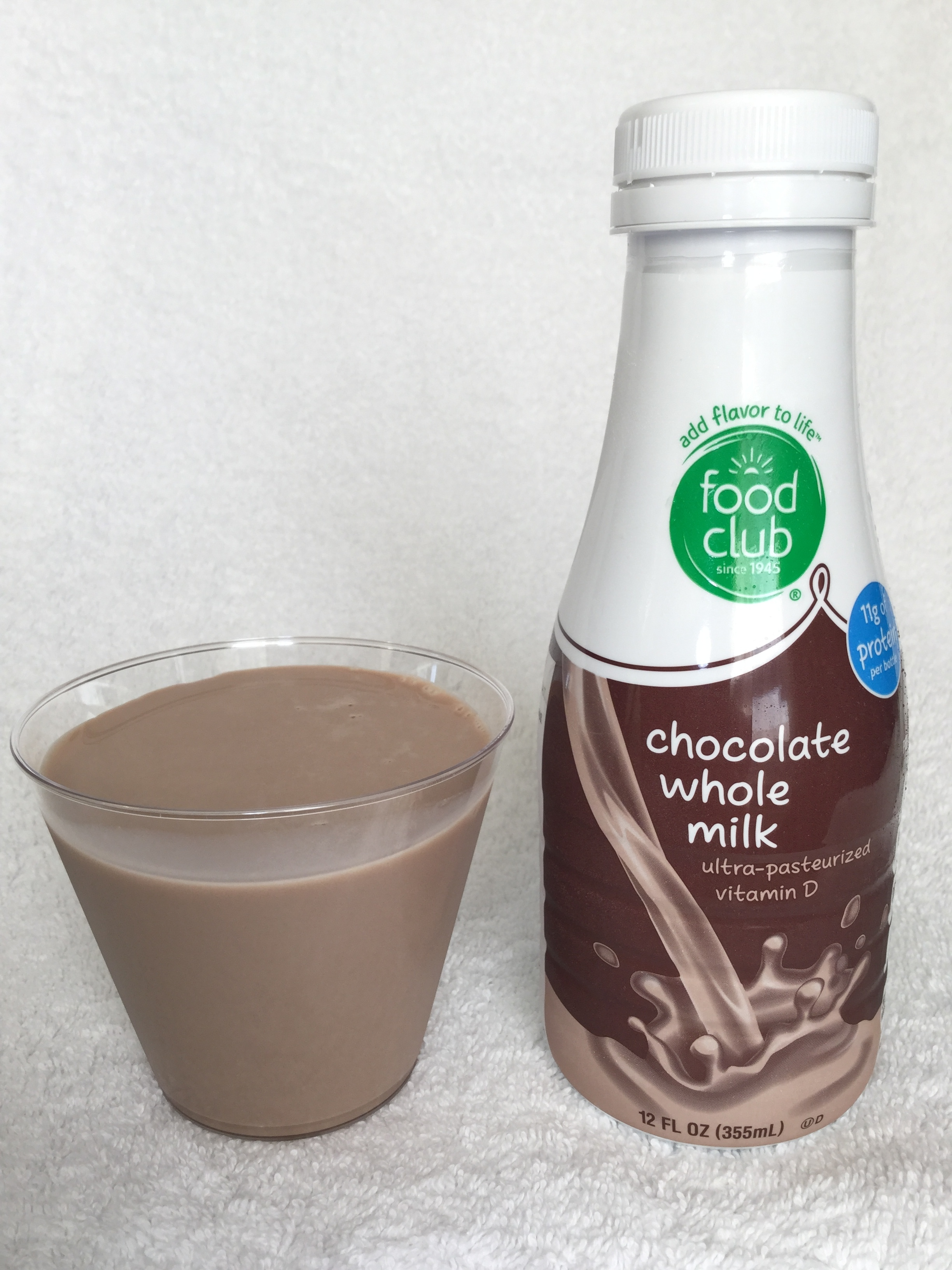 Food Club Chocolate Milk Cup