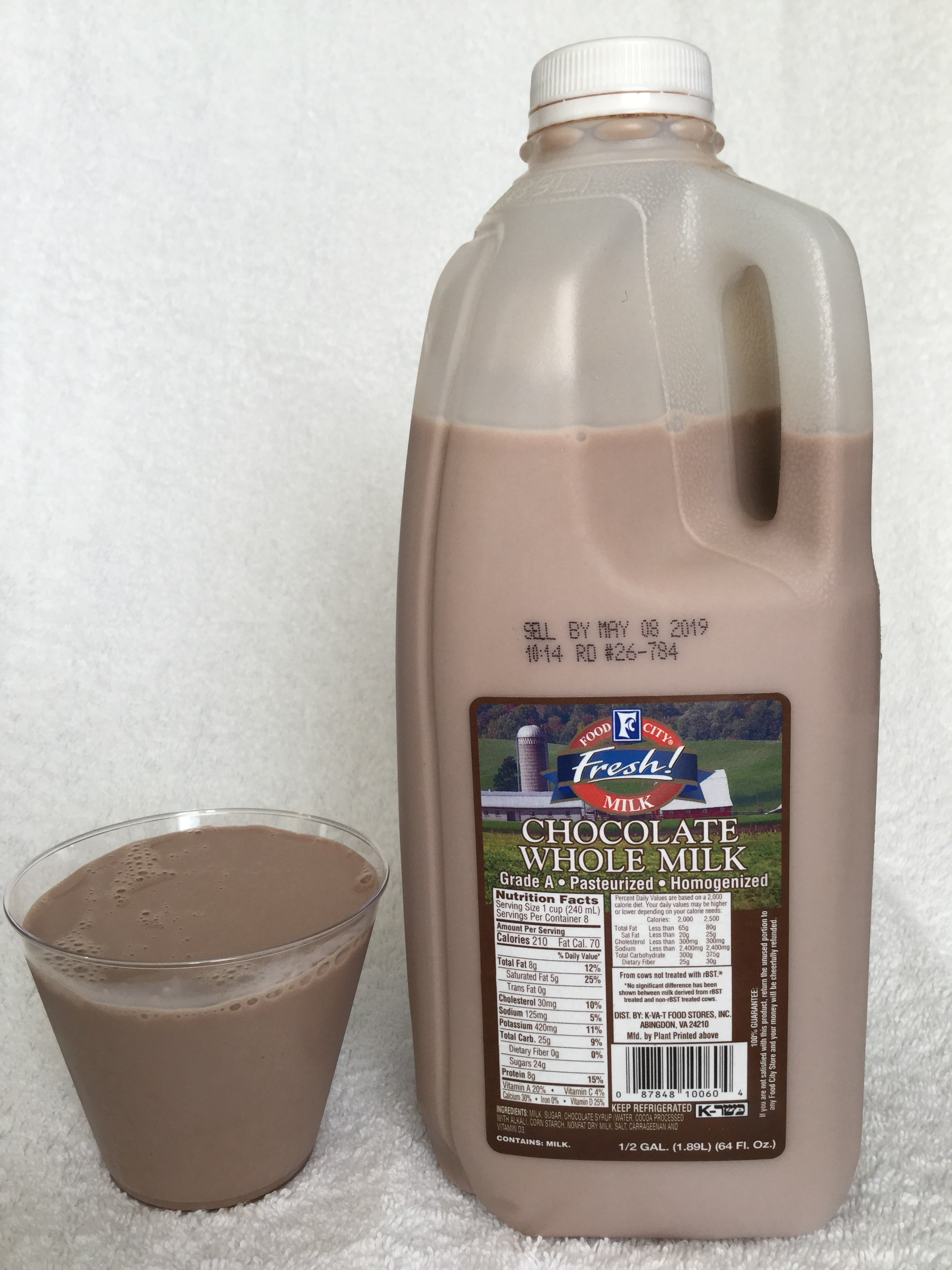 Food City Chocolate Milk Cup