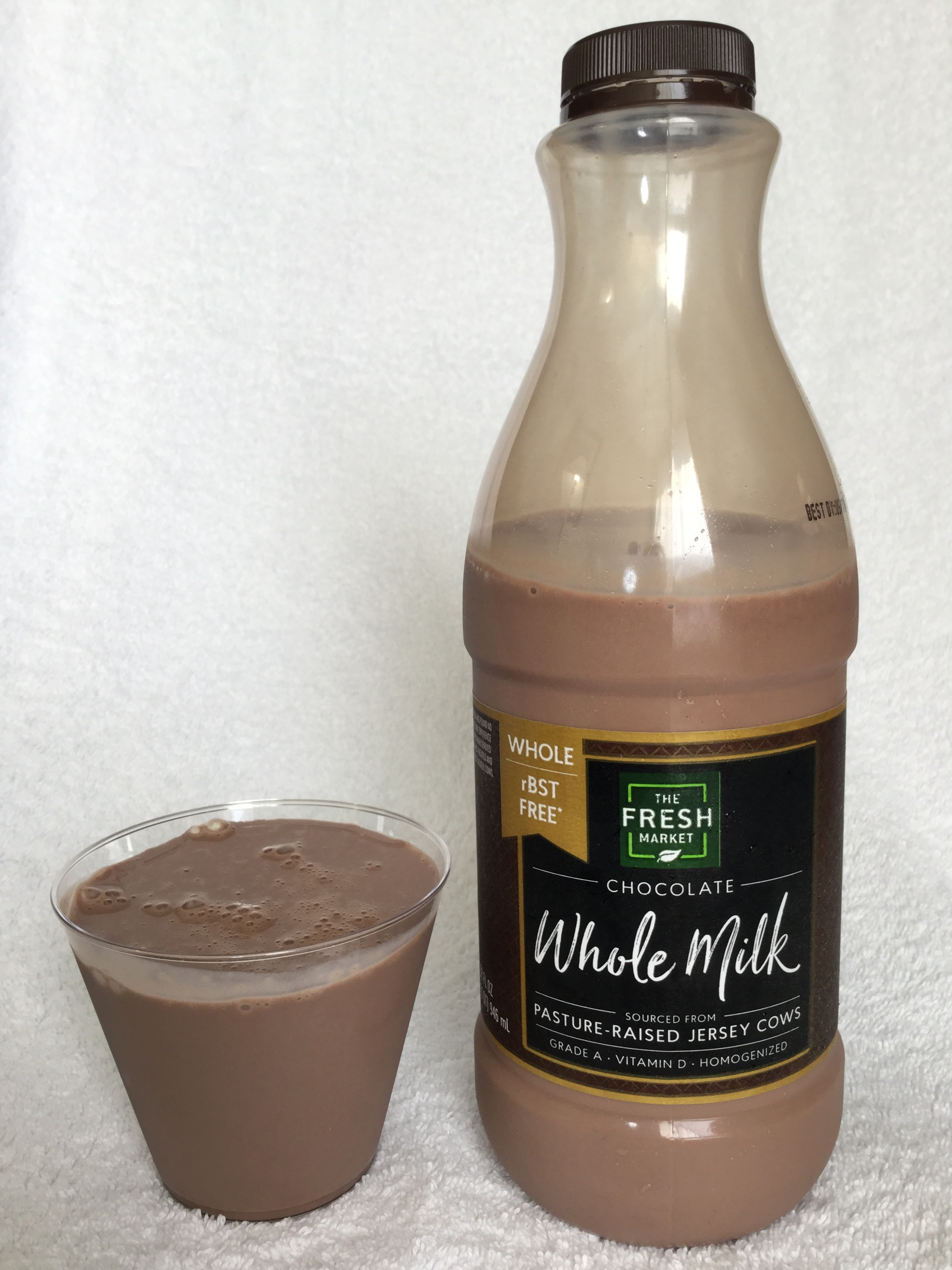 The Fresh Market Whole Chocolate Milk Cup