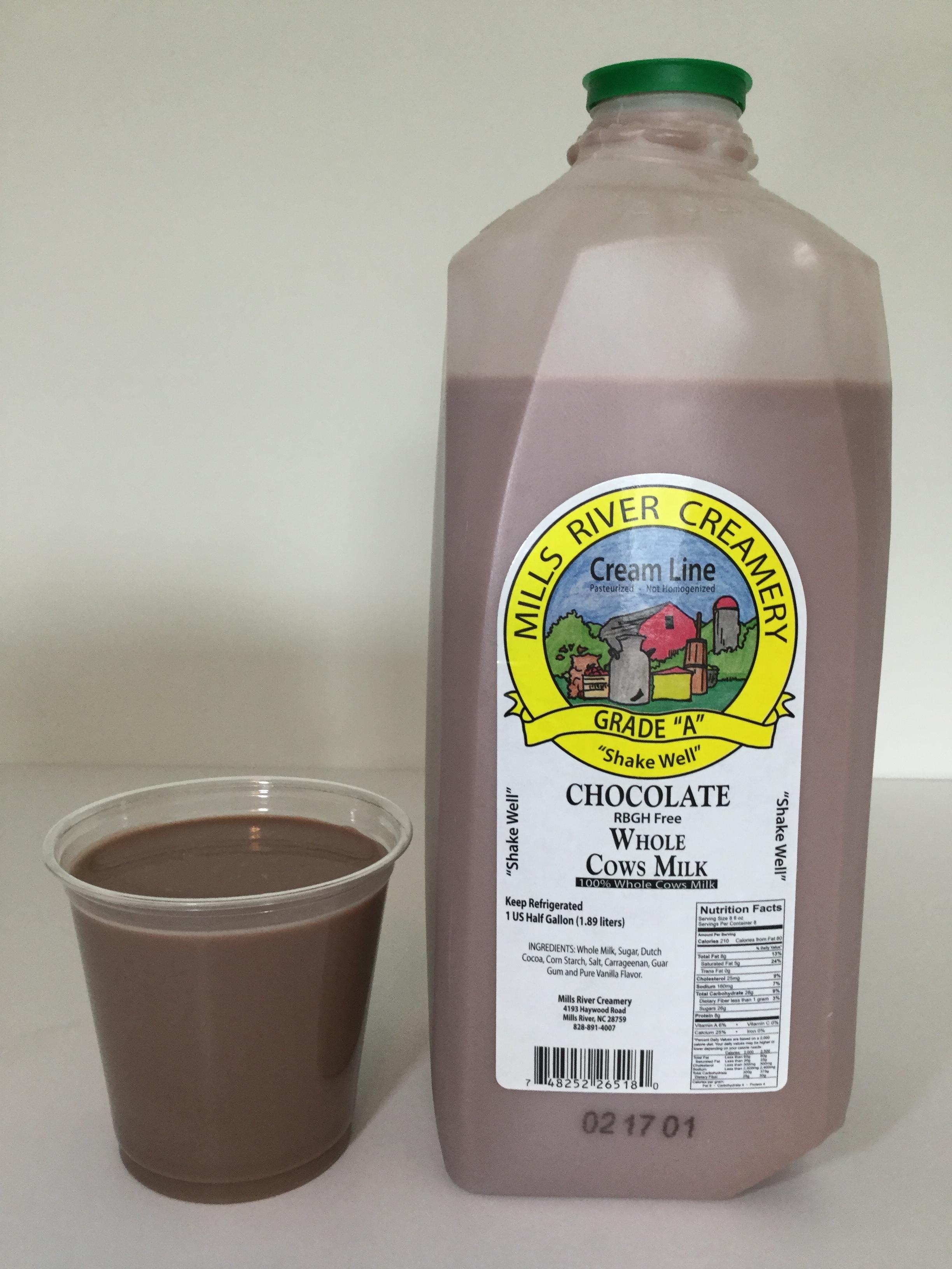 Mills River Creamery Chocolate Milk Cup2