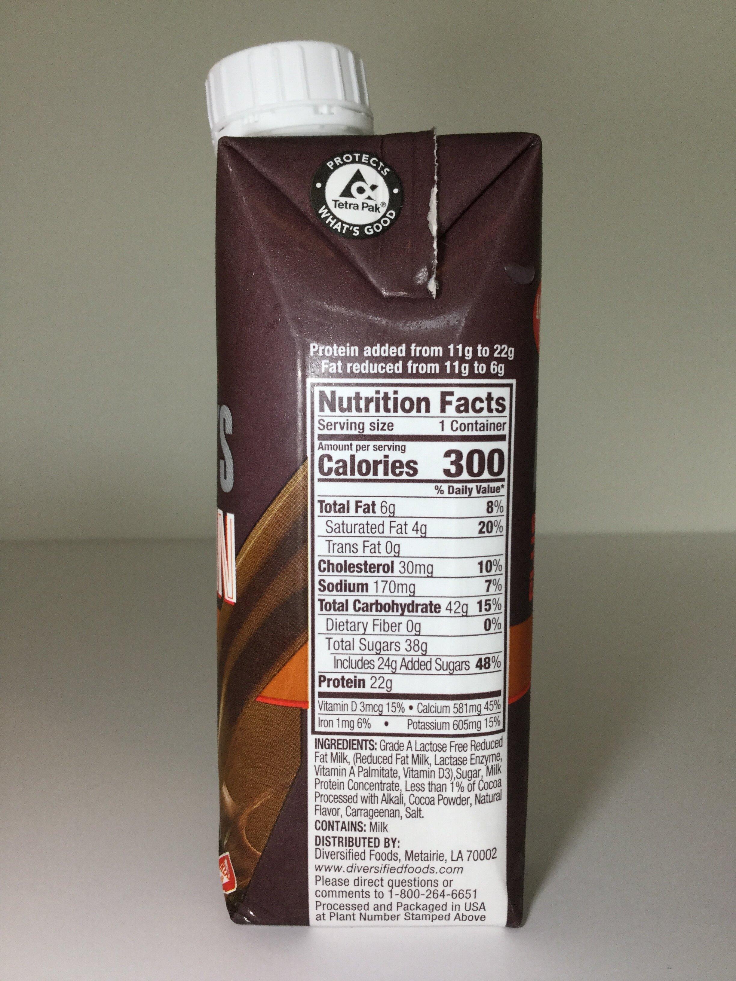 Hershey's Plus Protein Chocolate Milk