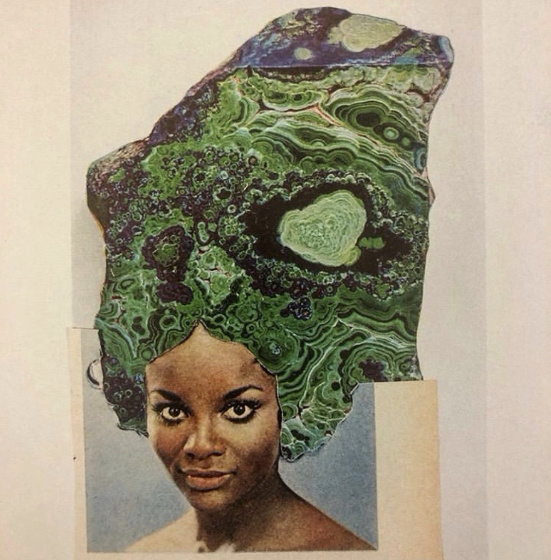 Collage by Lorna Simpson