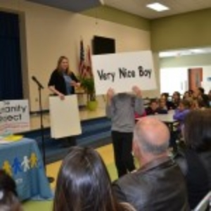 Heron Heights Elementary gets the anti-bullying message