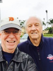 Al Kaline, Detroit Tigers Hall of Famer, with Humanity Project Founder Bob Knotts