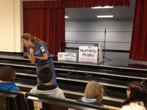January 7, 2014: Our program at Lloyd Estates Elementary, Oakland Park, Florida