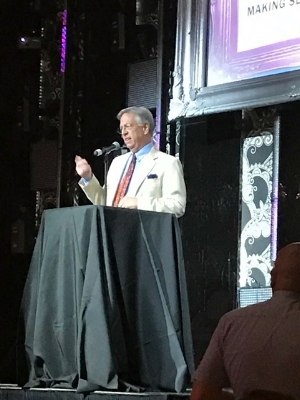 Our founder, Bob Knotts, speaking at the GLLN Gala