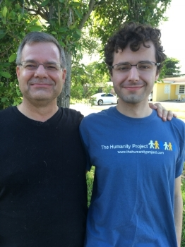 Keith and Christian, Leadership Council members