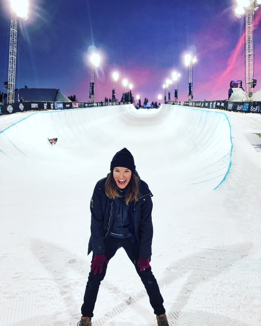 Worked X GAMES Aspen with ESPN for the 7th year in a row. I love my event production family I see each winter. I work with the on air hosts / talent, directors, and producers for the live show. My focus is superpipe and Slopestyle
