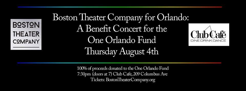 BTC for Orlando - A Benefit Concert