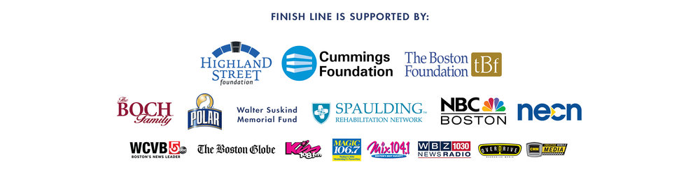 Finish Line sponsors
