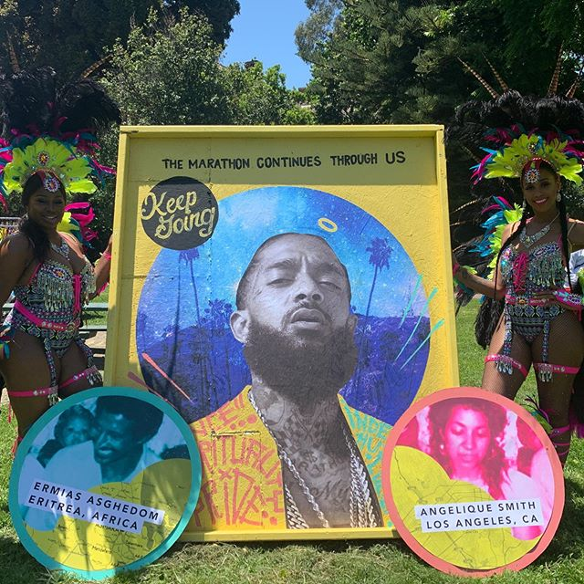 Oakland carnival 2019 today at Mosswood Park . Africa Hold Your Space . The marathon continues through us with action, and moving with purpose . #angeliquesmith #ermiasasghedom . . .  @sambafunk  @kayreeezy @karahpeters