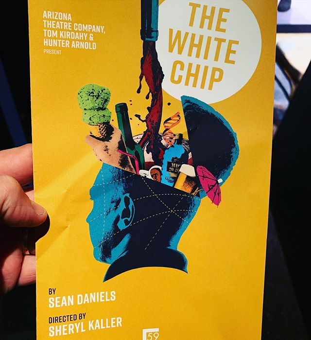 Opening night of the amazing play #TheWhiteChip in nyc. So proud of my dear pal @seanddaniels, who wrote the damn thing (same fella who directed my show THE LION). Proud of you, buddy.