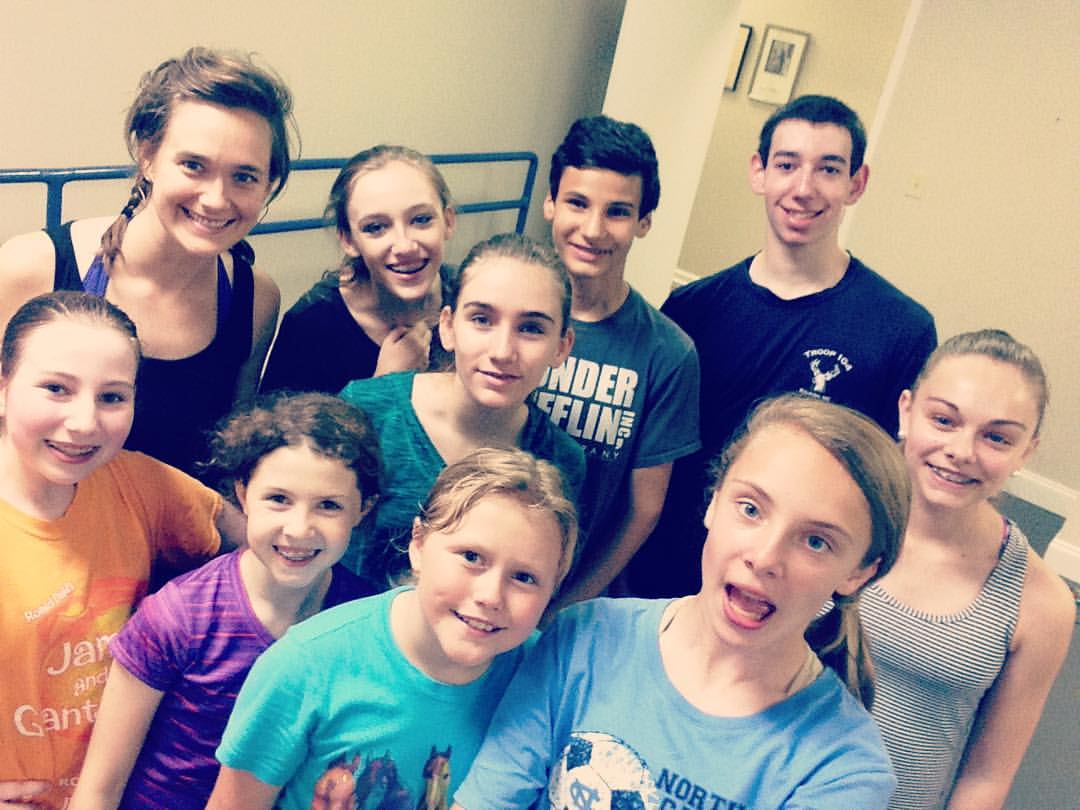 miss these clowns already :) #ldoc #cityballet #danceclass #recitaltime #love #dance