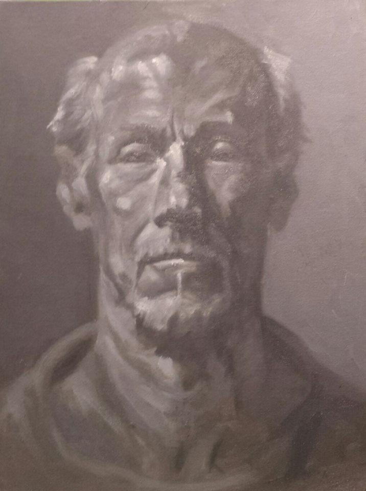 untitled oil portrait #1