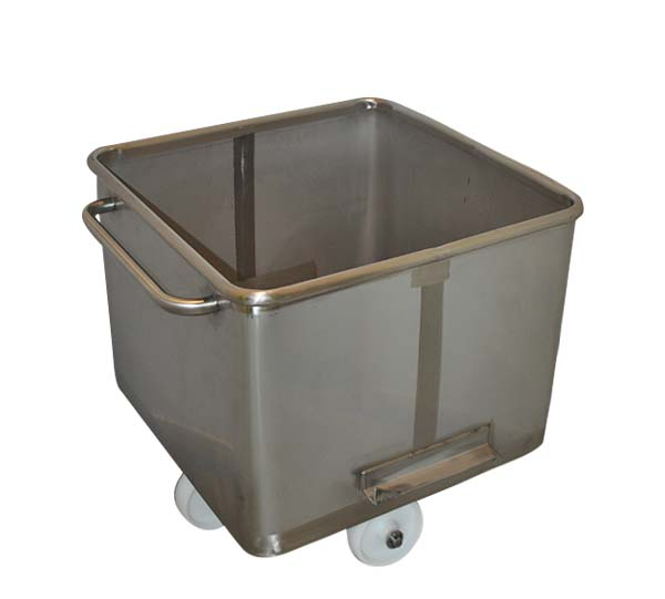 200L Stainless Product Trollies