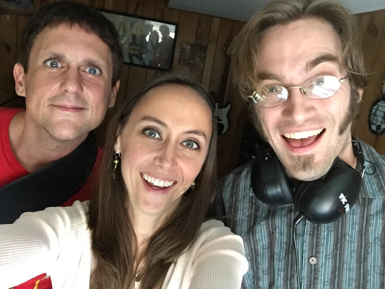 Kirk Duval, Sarah Jane Hargis, and Andrew Noble