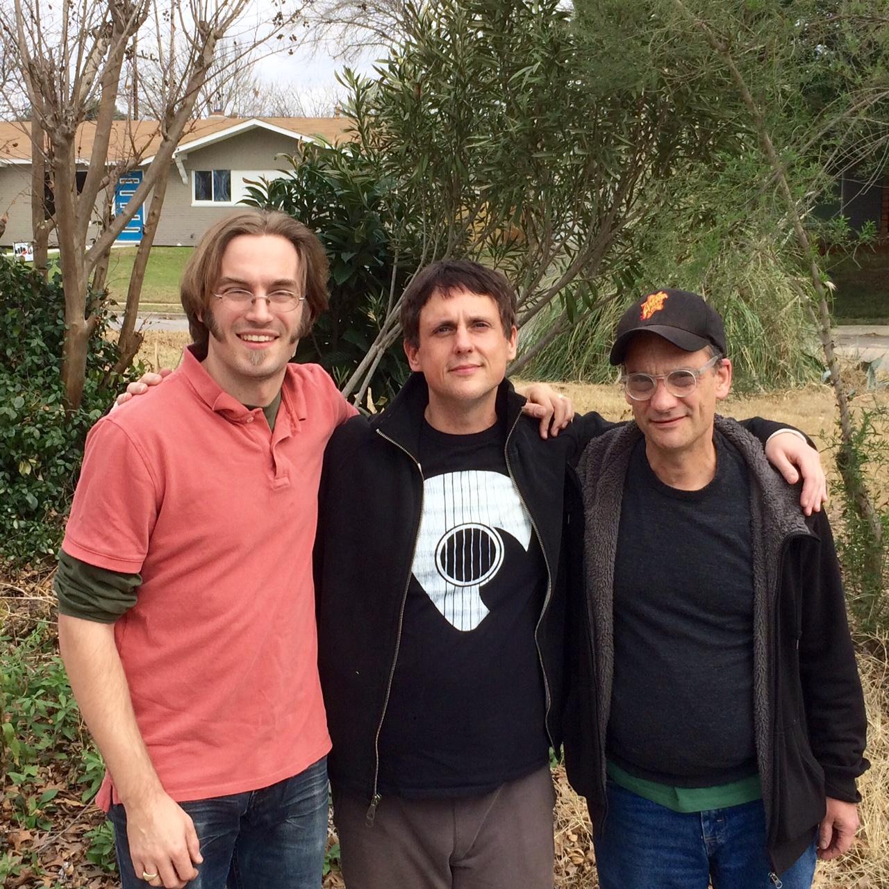 Andrew Noble, Kirk Duvall, Bob Hoffnar