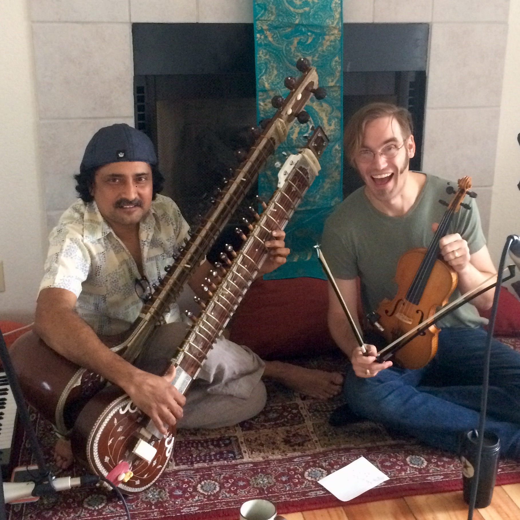 Indrajit Banerjee, Sitar and Andrew Noble, Violin