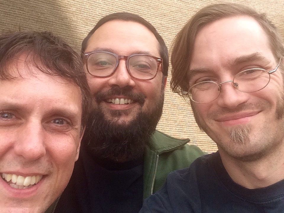 Kirk Duval, Mo Ha Dev, and Andrew Noble