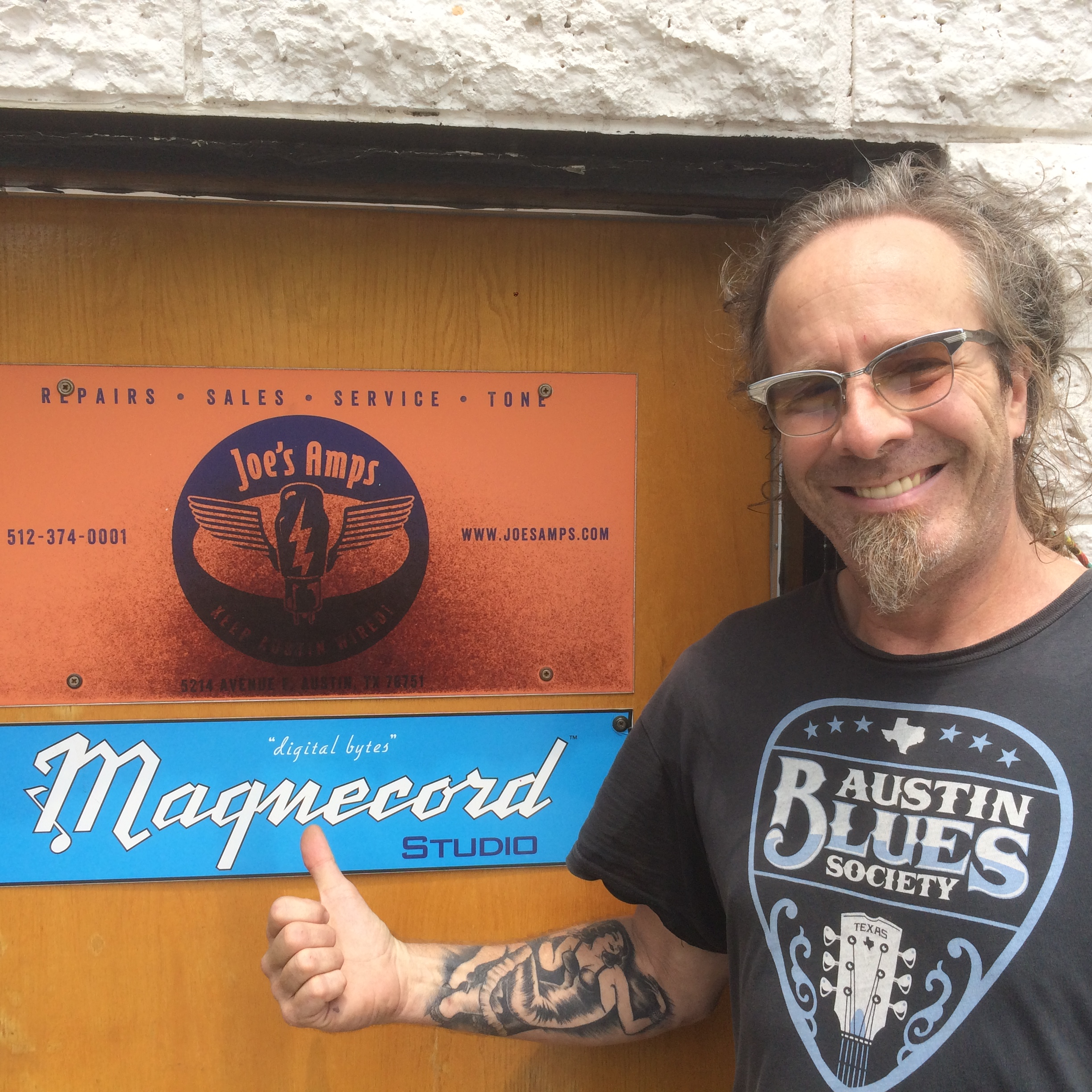 Ben Stevens at the Magnecord  Studio