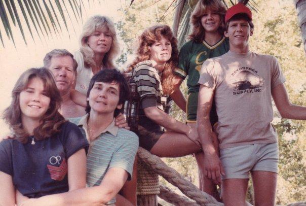 (left to right) front: Jennifer, angela davis. back: david davis, robin, Sandra, andrea and todd.