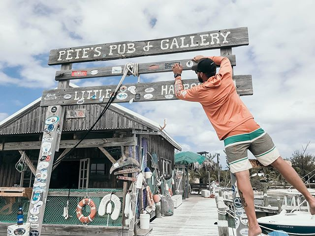 // Ebbs and flows, highs and lows. Funny how life works, sometimes. They say you can't truly appreciate the good until you've been through the bad. As a proper optimist, I disagree. // . . . #thebahamas #marshharbour #abacoislands #petespub #saltysoul #littleharbour #sunshinestateofmind