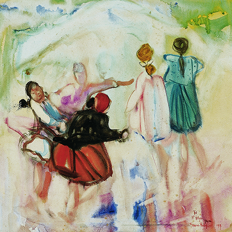 Frances Hodgkins - 'Children Playing'