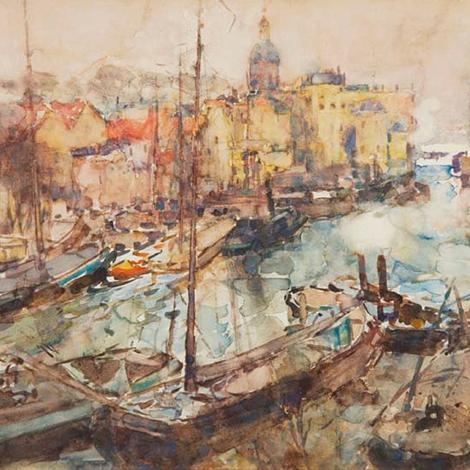 Frances Hodgkins - Dordrecht
