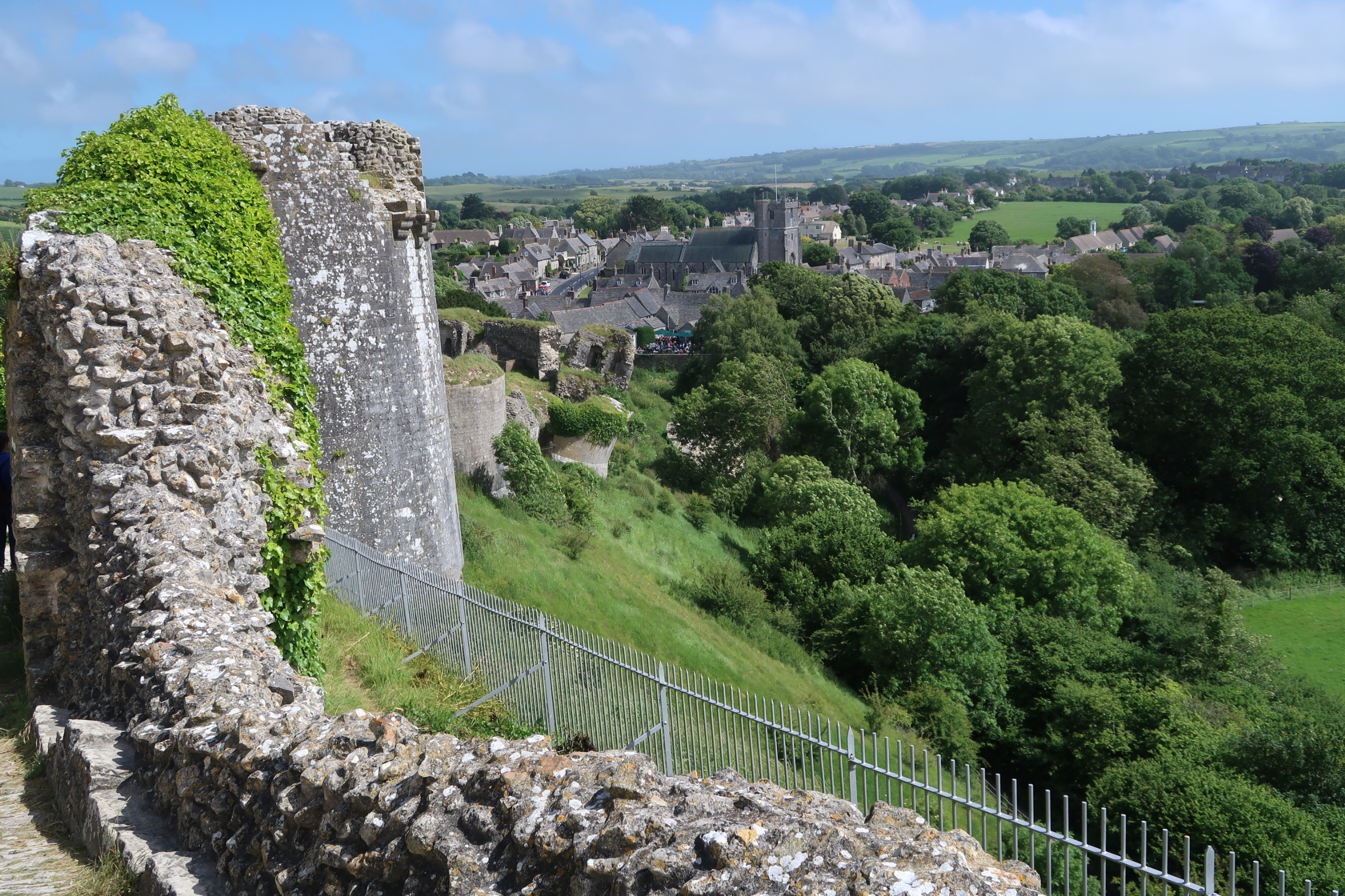 Corfe and East Street from West Bailey.jpg