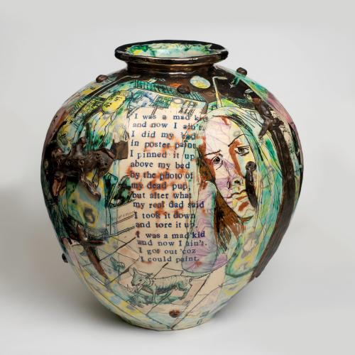 Grayson Perry,  Mad Kid's Bedroom Wall Pot