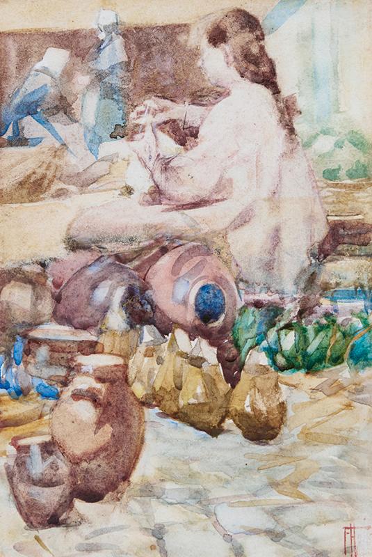 Frances-Hodgkins-Breton-Pottery-Market.jpg