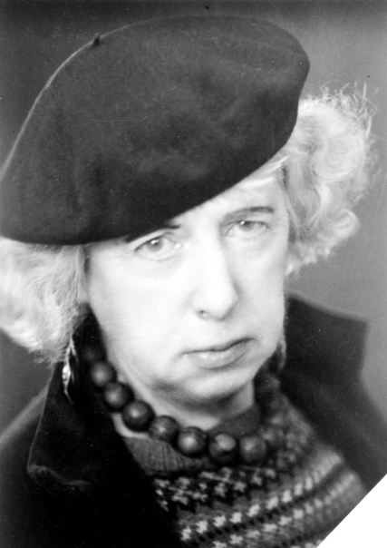 Frances Hodgkins   c. 1937 Photograph by Joan Muspratt, Swanage, Dorset