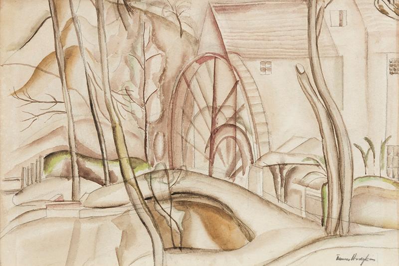 Frances Hodgkins, The Water Wheel