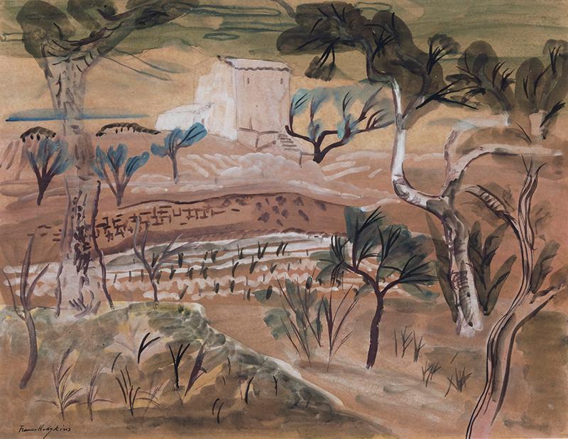 Frances Hodgkins, Hodgkins, Summer in Provence