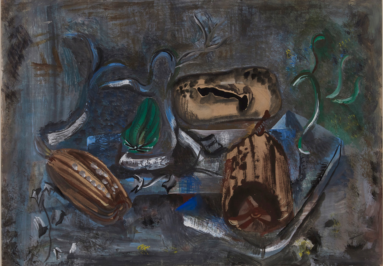 Frances Hodgkins, Marrows and Peppers, Tossa